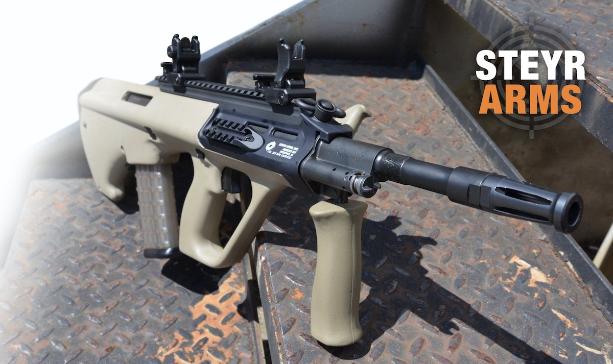 Steyr Arms to release long rail version of AUG A3 M1