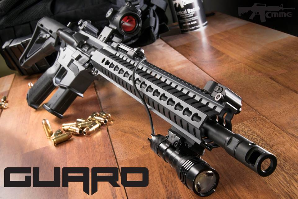 The Guard boasts multiple configurations, giving shooters a variety of setups. (Photo: CMMG via Facebook)