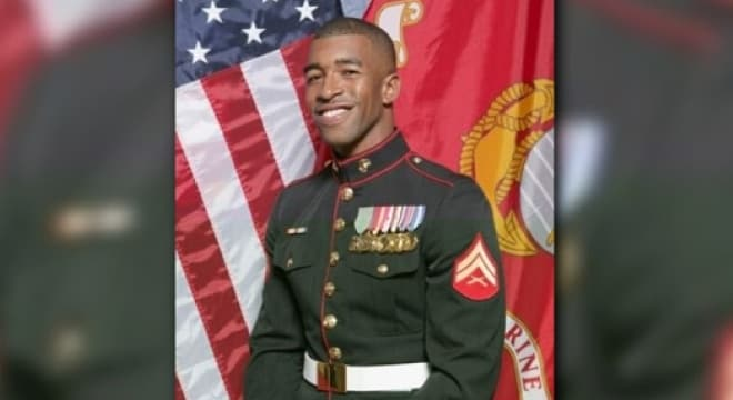 Former Marine Hisashi Pompey was set to report to a New Jersey prison this week to begin a 3-5 year sentence for unlawful possession of a weapon. (Photo: WUSA9)
