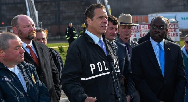 Gov. Andrew Cuomo (D) announced over $13 million in continuing funds for 17 counties in New York outside of the Big Apple to target gun violence and aggravated assaults (Photo: governor.ny.gov)