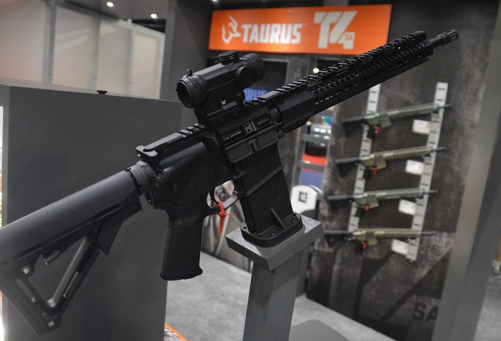 Taurus has flirted with various ARs since 2009, but is now jumping in to the market with both feet (Photos: Chris Eger/Guns.com)