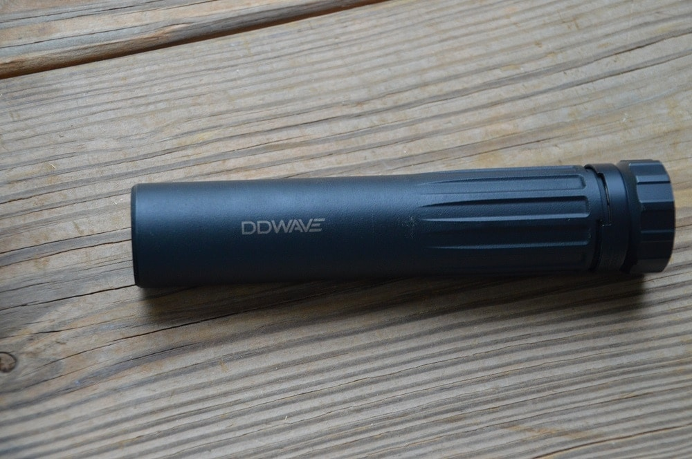 Daniel Defense brought their new and innovative DD WAVE suppressor, which uses 3D printing technology and a baffle-free design out to play.