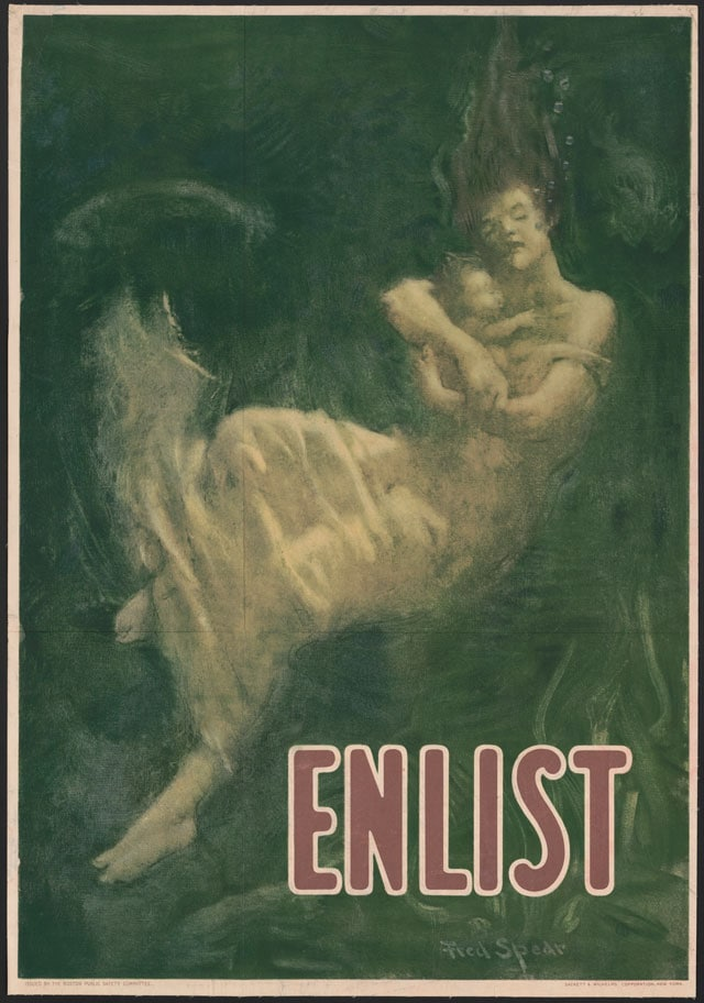 Enlist by Fred Spear. New York: Sackett & Wilhelms Corporation, 1915 or 1916. (Photo: Library of Congress)