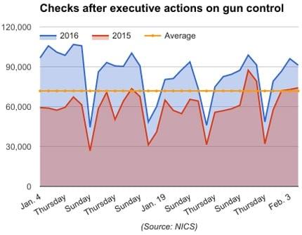 checks after executive actions on gun control