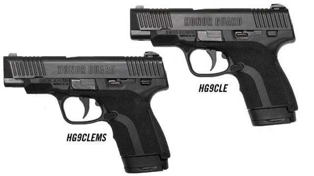 The new Honor Guard models join a bevy of 9mm line handguns already offered to consumers. (Photo: Honor Defense)