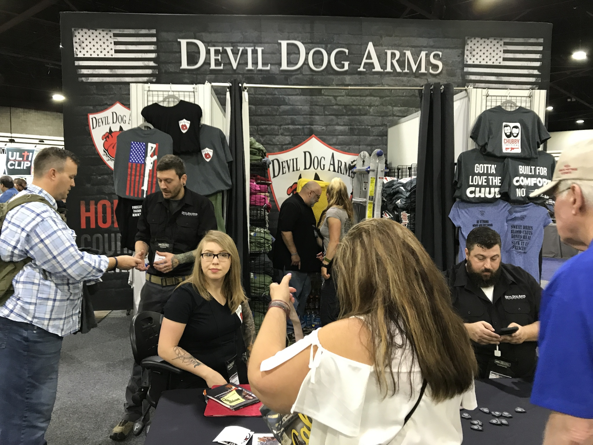 Devil Dog Arms booth at the 2017 NRA convention. (Photo: Jared Morgan/Guns.com)