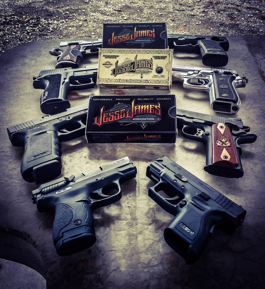 Jesse James teams up with Ammo, Inc. supplying fans with top-notch ammo to accompany them on the range and in the field. (Photo: Ammo, Inc. via Facebook)