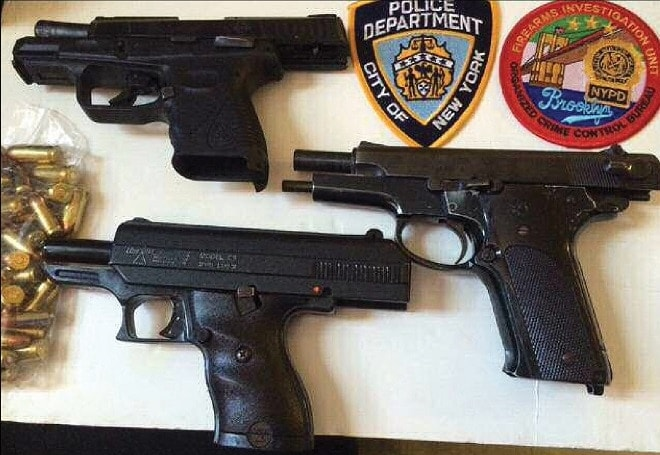 June 30, 2016: Black allegedly sold a 9mm Hi-Point, 9mm S&W, a .45 caliber Taurus and 30 rounds of ammo for $2,550.