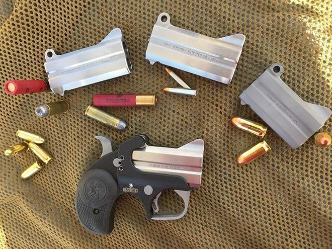 One_gun,_four_barrel_assemblies,_five_cartridges--and_that_s_just_a_start.