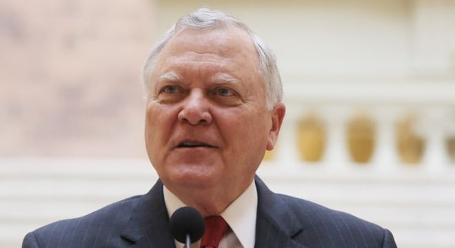 Gov. Nathan Deal has a decision to make on signing or vetoing campus carry legislation for the second time in two years. (Photo: Georgia Governor's Office)