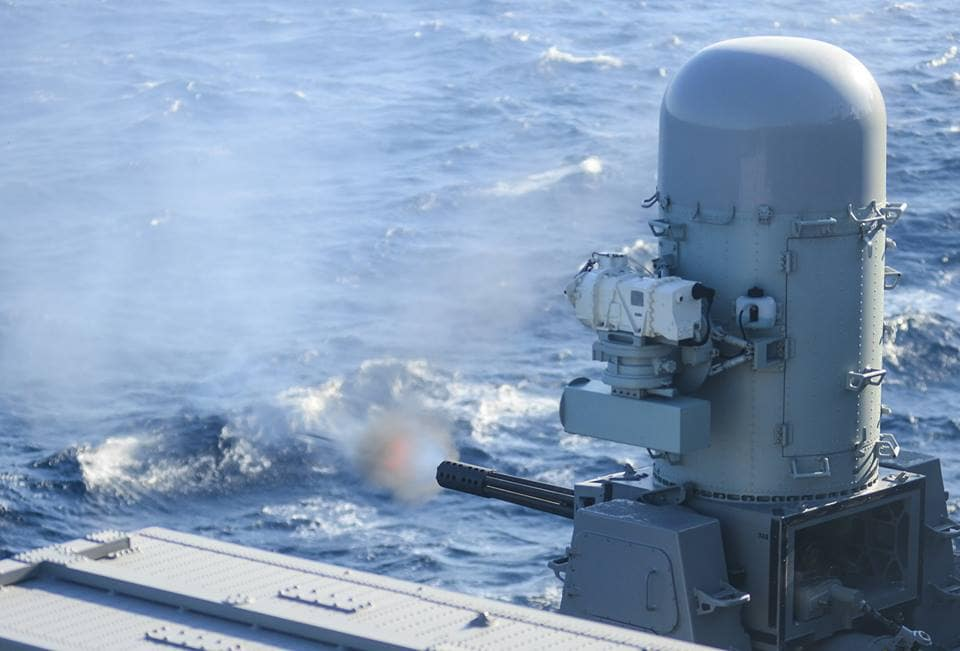 CIWS is capable of firing 4,500 rounds per minute, but a new development may offer alternatives (Photo: Raytheon)