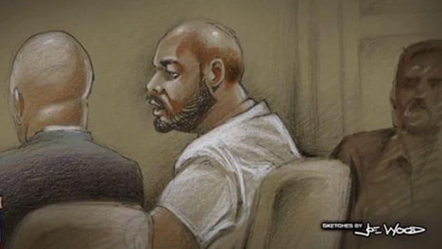 Terrence J. McNeil courtroom sketch