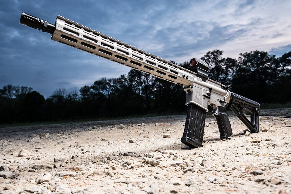 The M400 Elite will be offered in a black and Titanium Cerakote, pictured above. (Photo: Sig Sauer via Facebook)