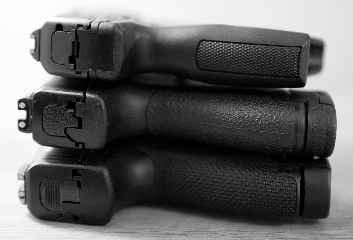 Single stack handguns are making their way back into the limelight, but why? (Photo: Jacki Billings)