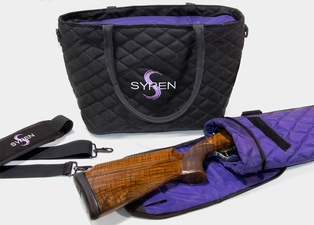 Syren adds a range tote and gun slip to its bevy of shooting equipment for women. (Photo: Syren)