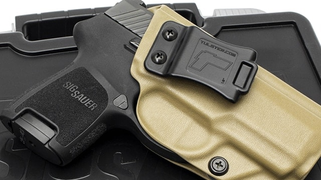 Tulster adds AIWB holster support for Sig Sauer P320 subcompact