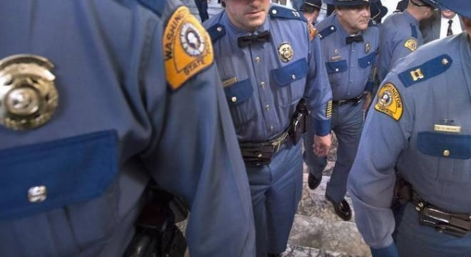 State police in Washington would have to be alerted by gun dealers within two days of a NICS denial if a pending bill is signed into law. (Photo: Tony Overman/The Olympian)