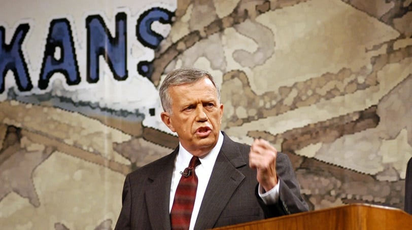 Former U.S. House Rep. Jay Dickey during a debate in 2002 (Photo: Associated Press)