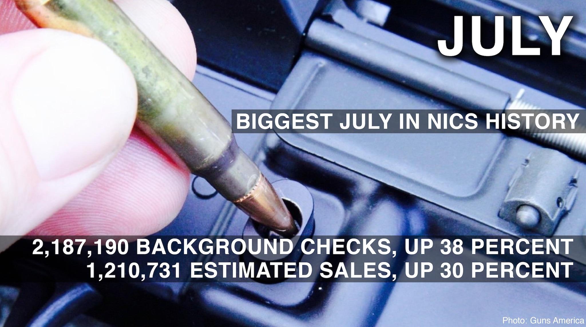 july 2016 background check stats