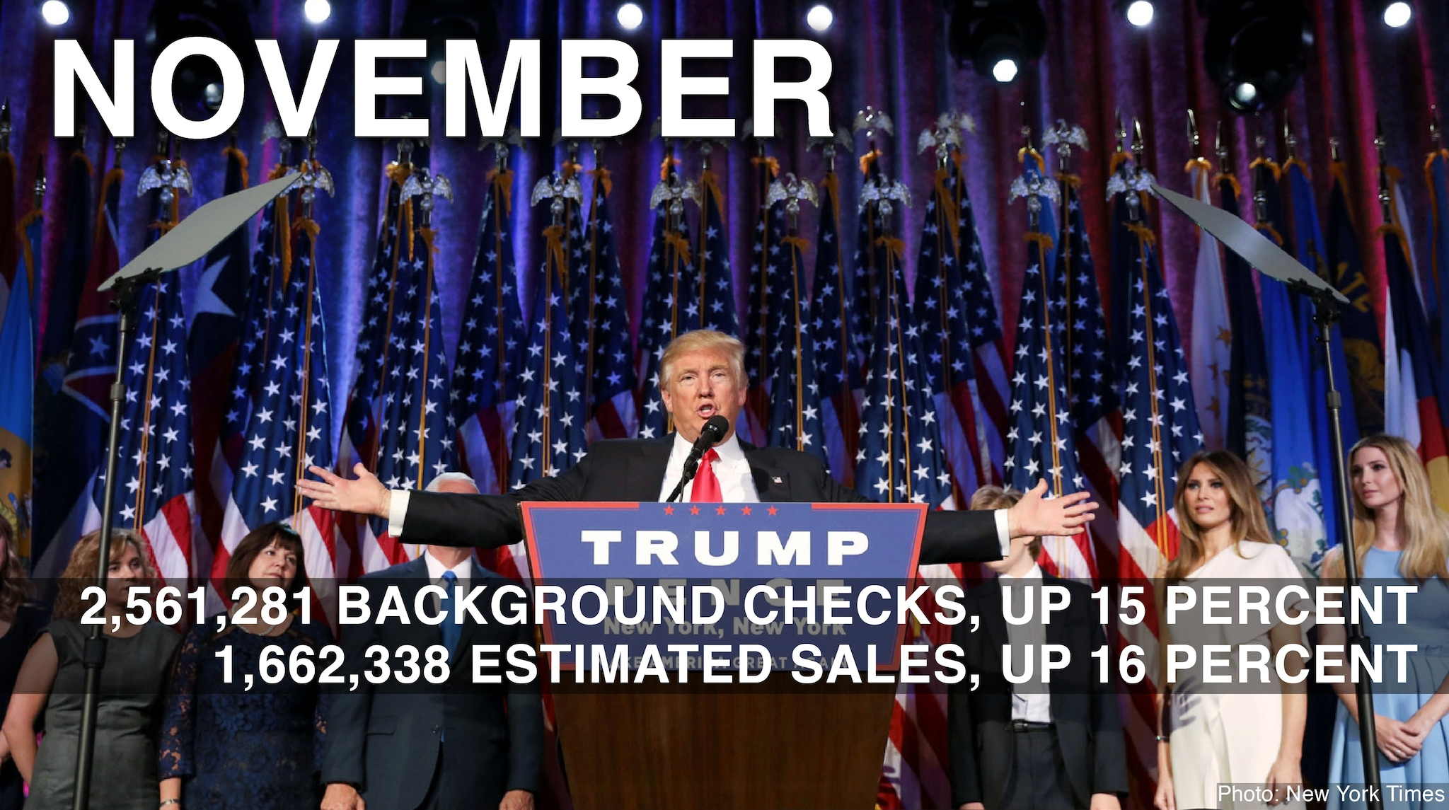 November 2016 background check stats