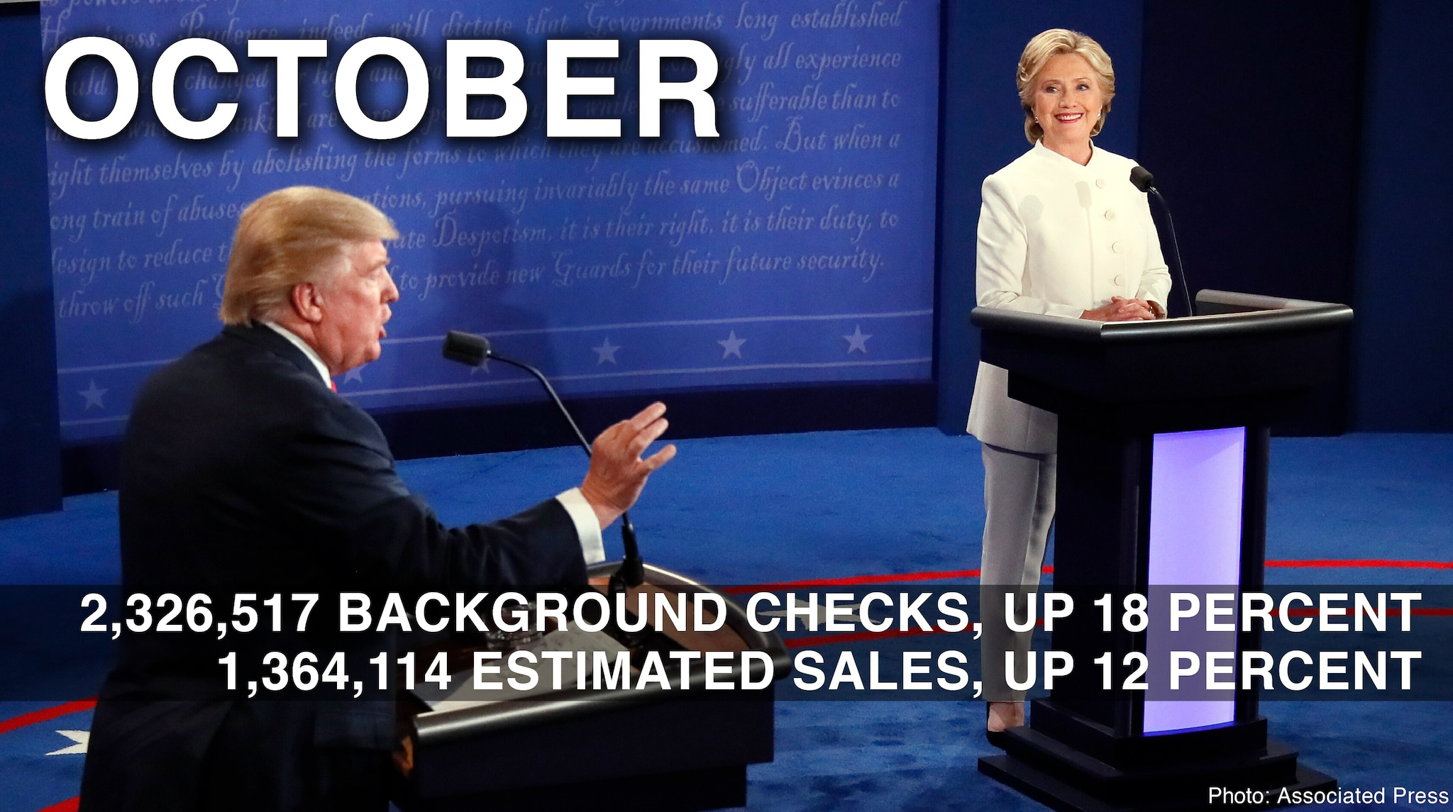 october 2016 background check stats