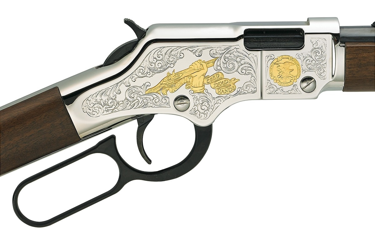 All attendees of the National Firearms Law Seminar will have the chance to win a limited-edition Henry Golden Boy Second Amendment Tribute Edition .22 LR rifle. (Photo: Henry USA)