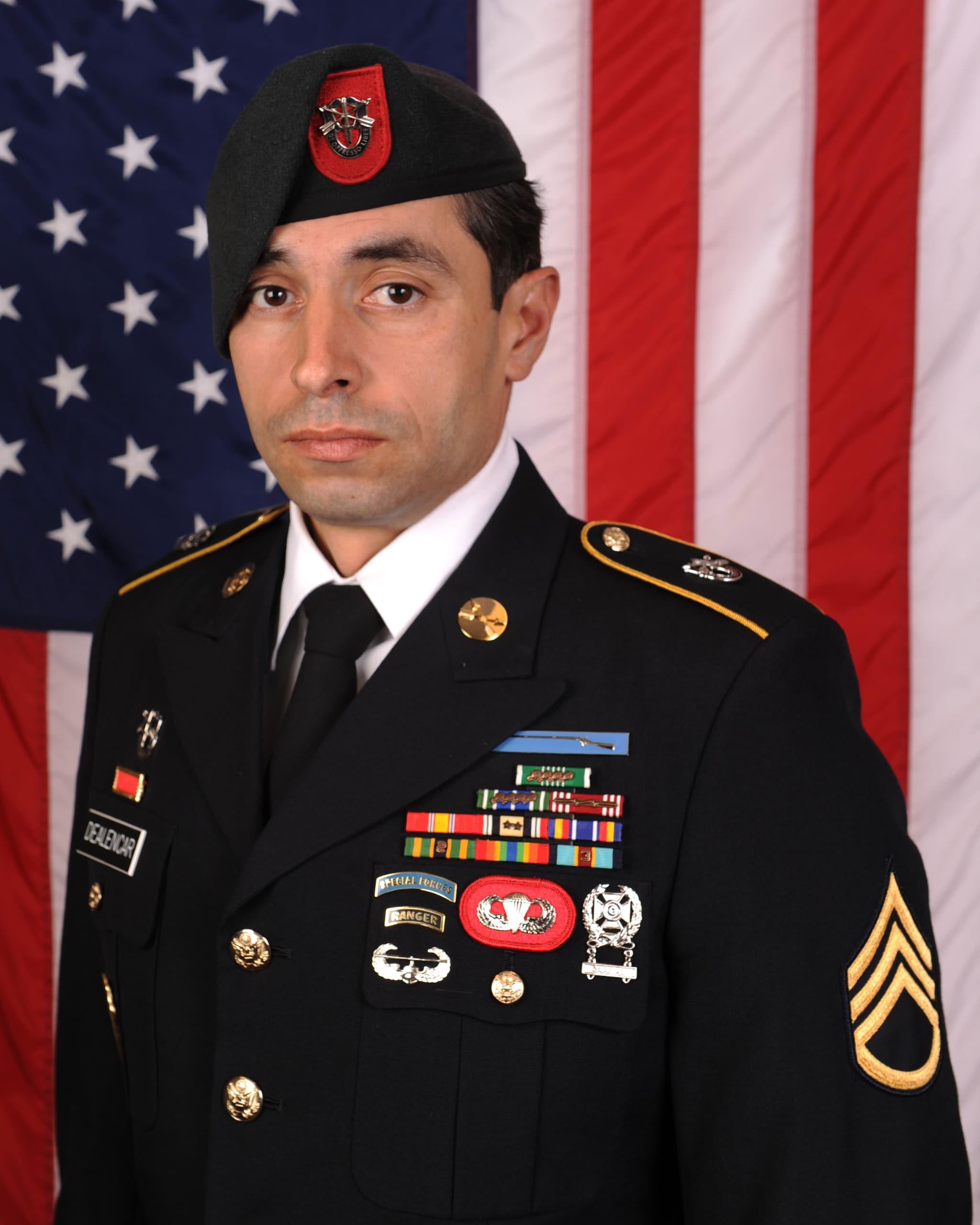 Staff Sgt. Mark R. De Alencar