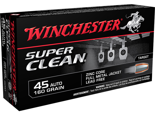 The Super Clean series offers a completely lead-free design perfect for indoor ranges. (Photo: Winchester Ammunition)