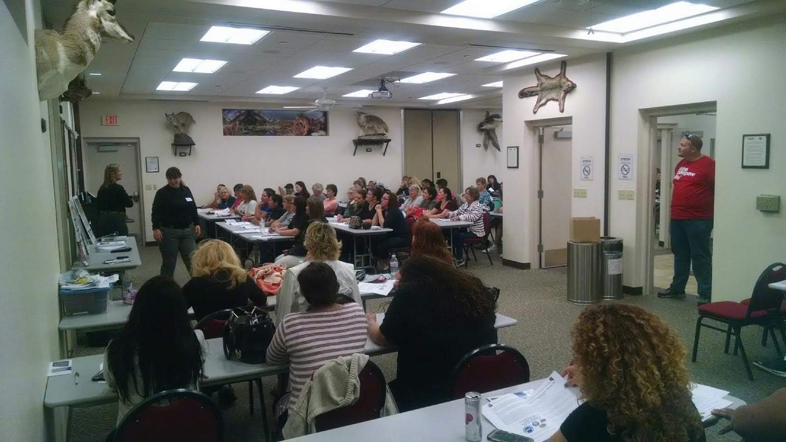 Women attending the Nevada Firearms Coalition's annual training course on April 25, 2017 at the Clark County Shooting Complex in Las Vegas. (Photo: NevadaCarry.org)