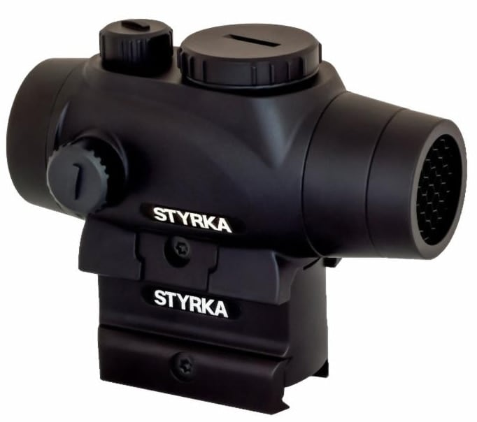 The S3 Red Dot series features three models ranging from 2.5 MOA to 5 MOA. (Photo: Stryka)