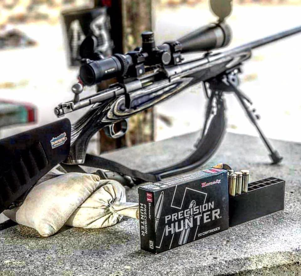 The Precision Hunter line, pictured above, is one of two ammo series to offer the new 300 WSM loads. (Photo: Hornady/Facebook)