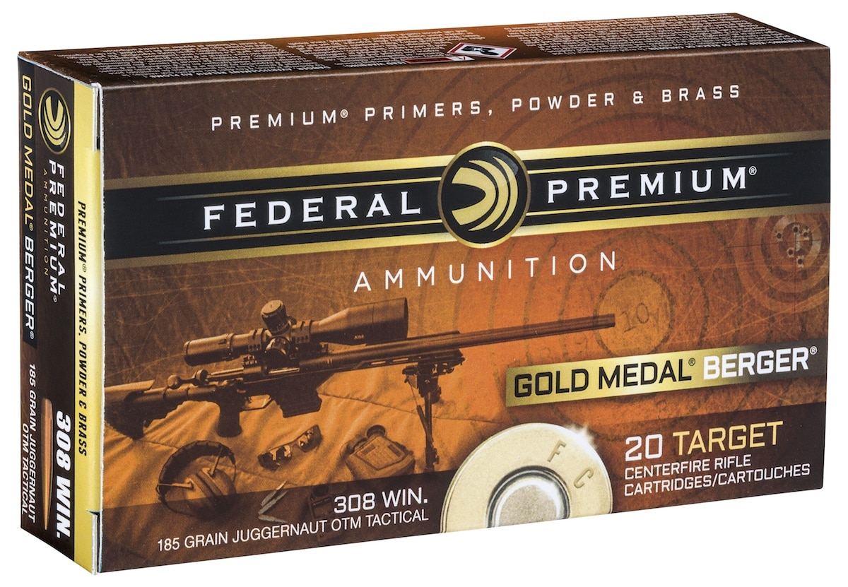 The Berger bullet is available in four loads, including .308 WIN pictured above. (Photo: Federal Premium)