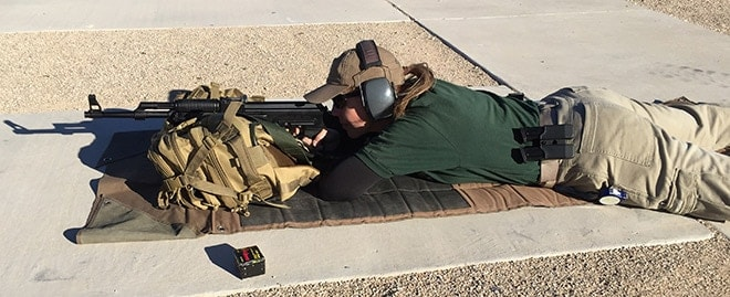 Accuracy_test_from_25_yards_with_iron_sights