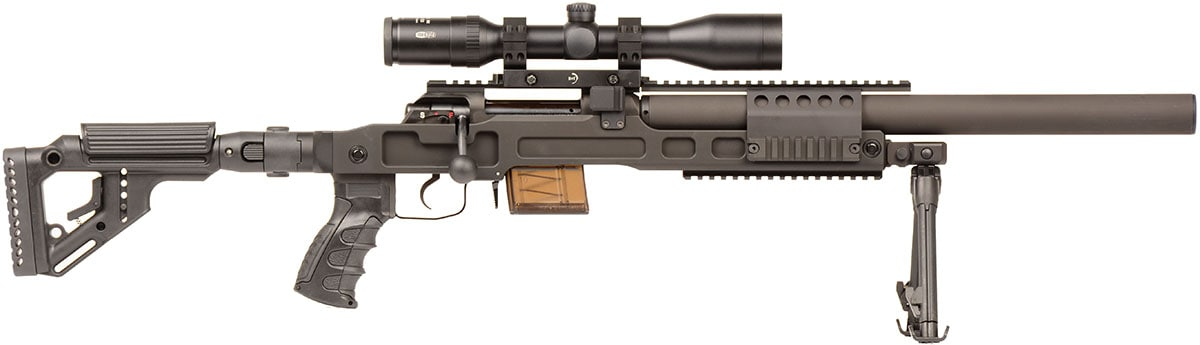 The SPR300 from B&T made its stateside debut at SHOT Show in Las Vegas. (Photo: B&T)