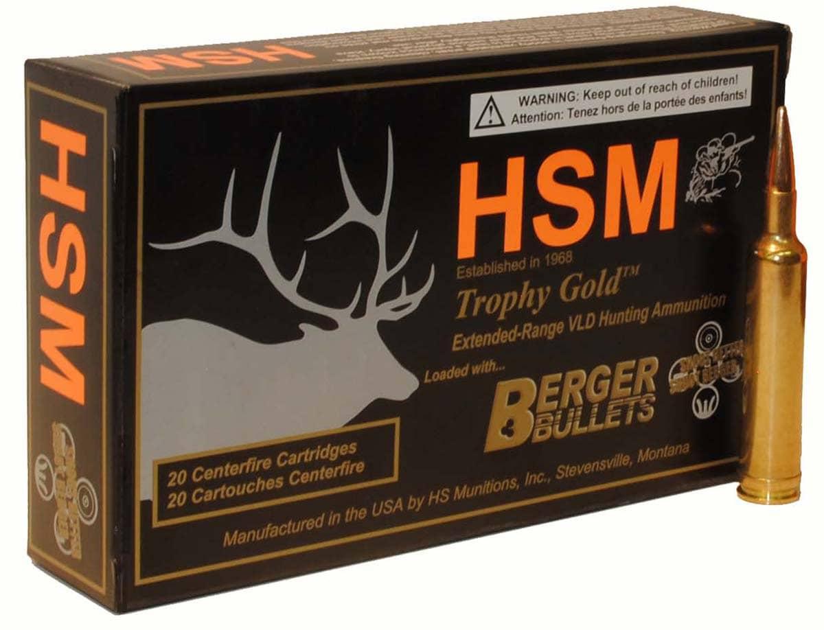 HSM Ammunition adds 6 5 Creedmoor to ammo lineup