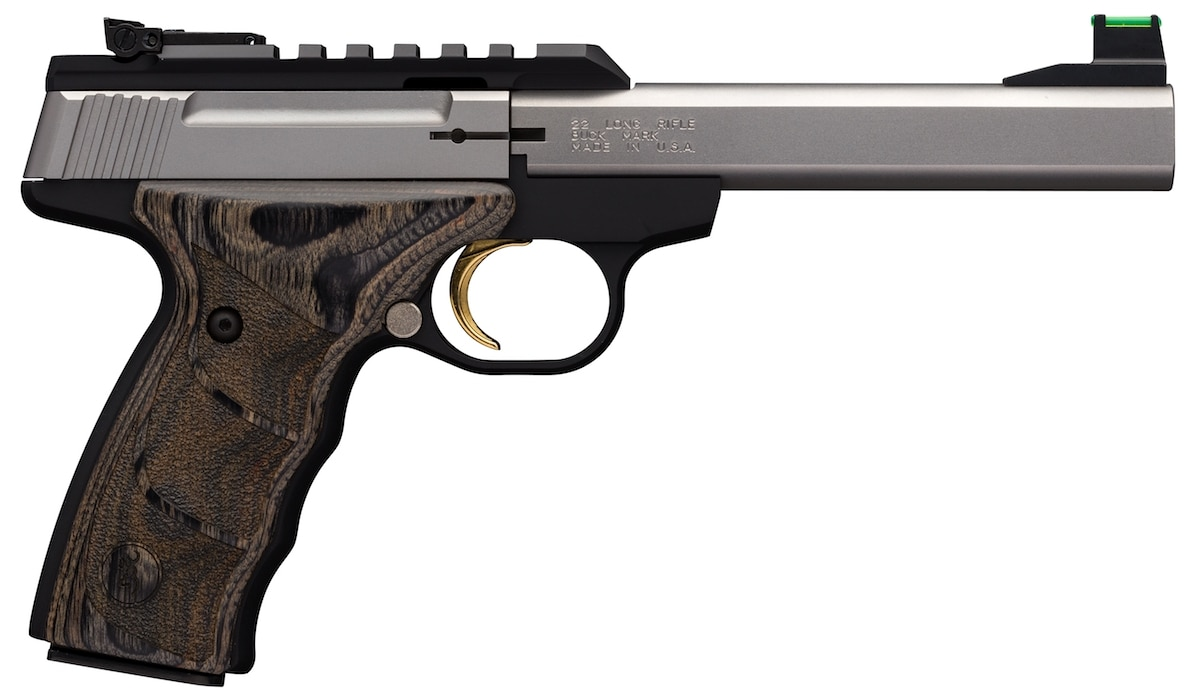 The Stainless UDX joins the Buck Mark Plus line.(Photo: Browning)