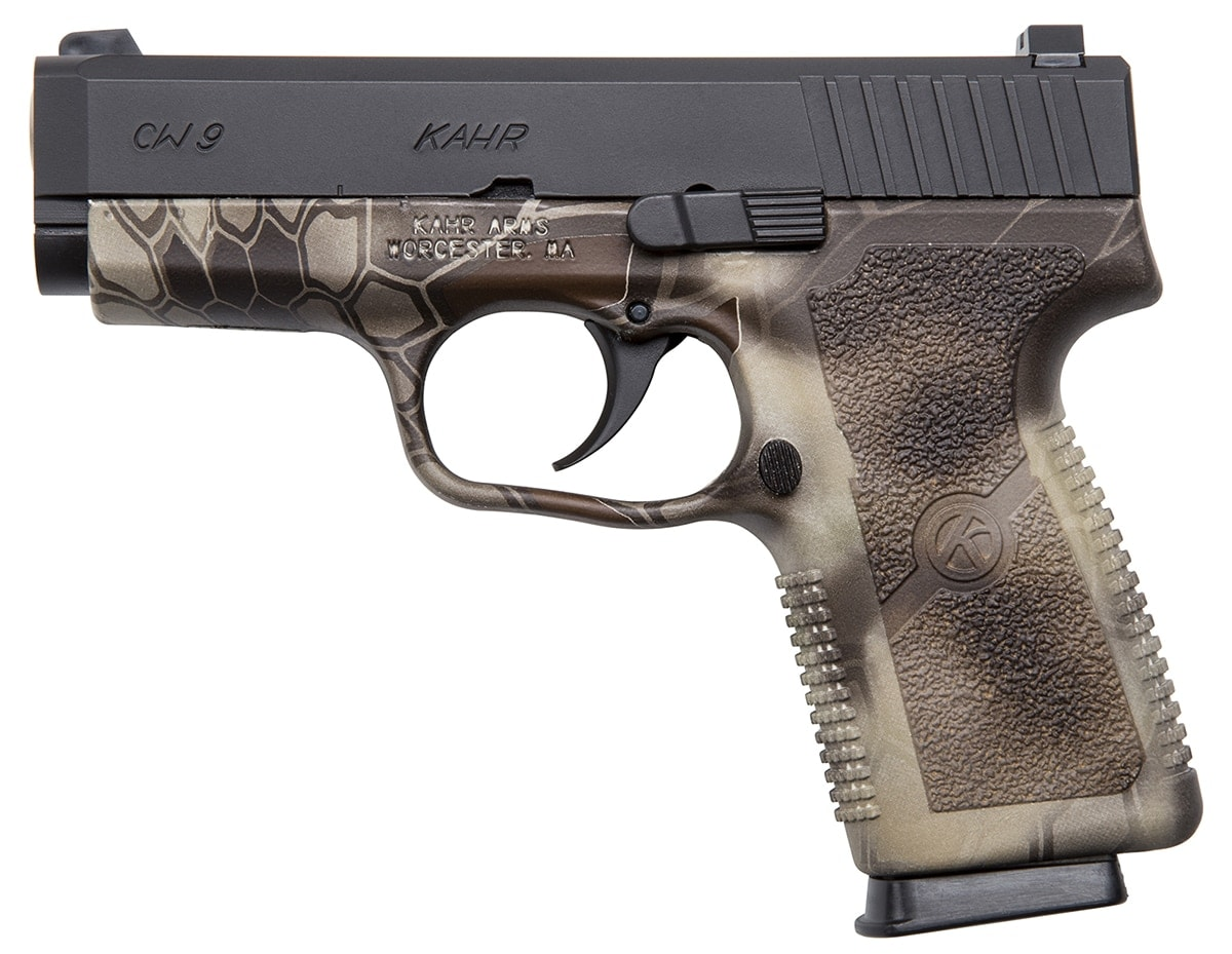 The Kryptek Camo design on the 9mm platform. (Photo: Kahr Arms)