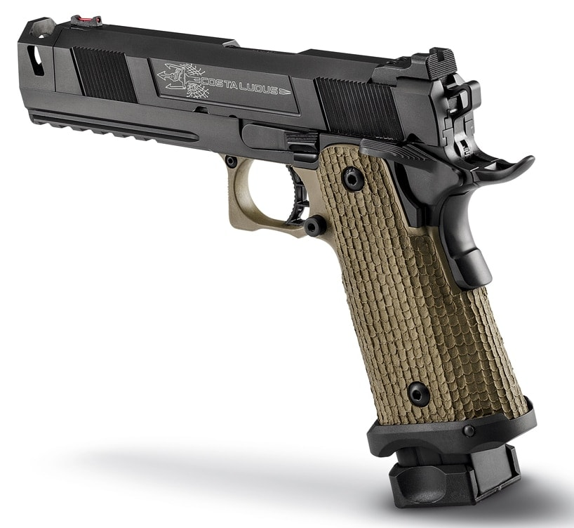 The pistol comes in either 9mm or .45 ACP.(Photo: STI)