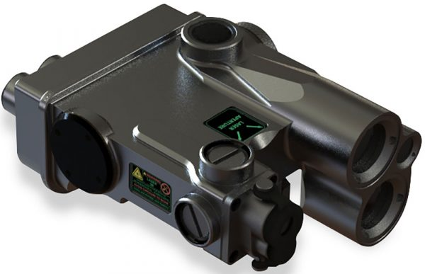 The DBAL-A4 joins Steiner's DBAL series, offering a dual beam aiming laser as well as white light illumination. (Photo: Steiner eOptics)