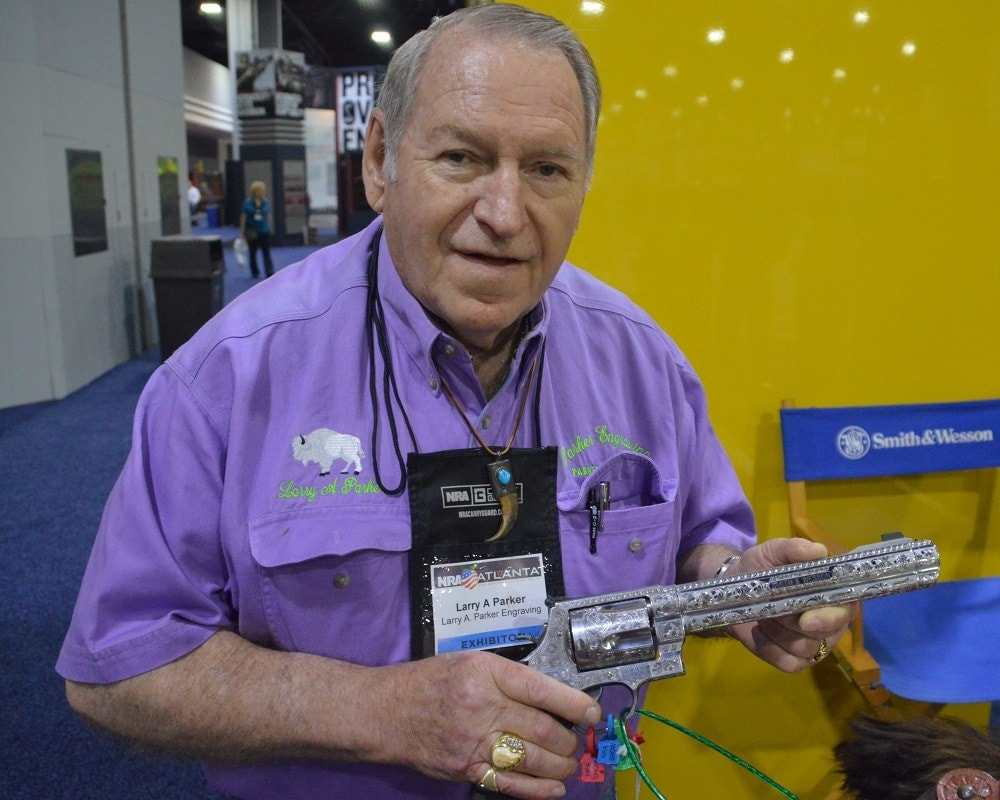Parker has been working with guns since 1958 and has no plans to stop. (Photos: Chris Eger/Guns.com)