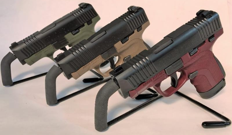 The new models include new colors such as FDE, OD green and mahogany. (Photo: Honor Defense)