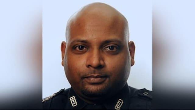 Former Boston Police Officer Adarbaad Karani. (Photo: PINAC)