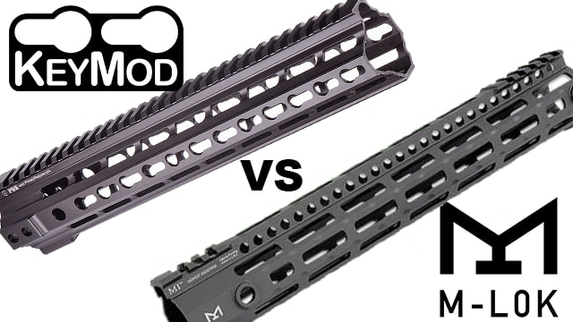 Will KeyMod suffer the same fate to M-LOk as Betamax did to VHS in the 80s? (Graphic: Jacki Billings)