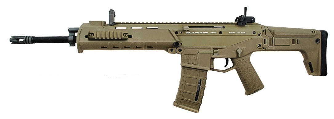 Magpul's Masada Concept Rifle was the first to feature a slotted ports for accessory mounting. (Photo: Magpul)