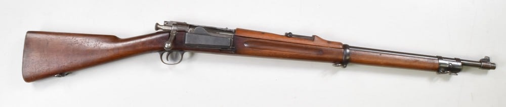 This Model 1898 Krag modified Springfield was up for grabs on the CMP's auction site when we visited (Photo: CMP)