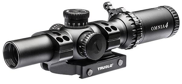 The Omnia, pictured above, is one of two new riflescopes introduced by Truglo. (Photo: Truglo)