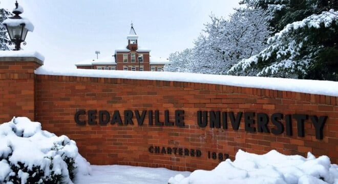 Cedarville, founded in 1887, has about 3,500 students (Photo: CU)
