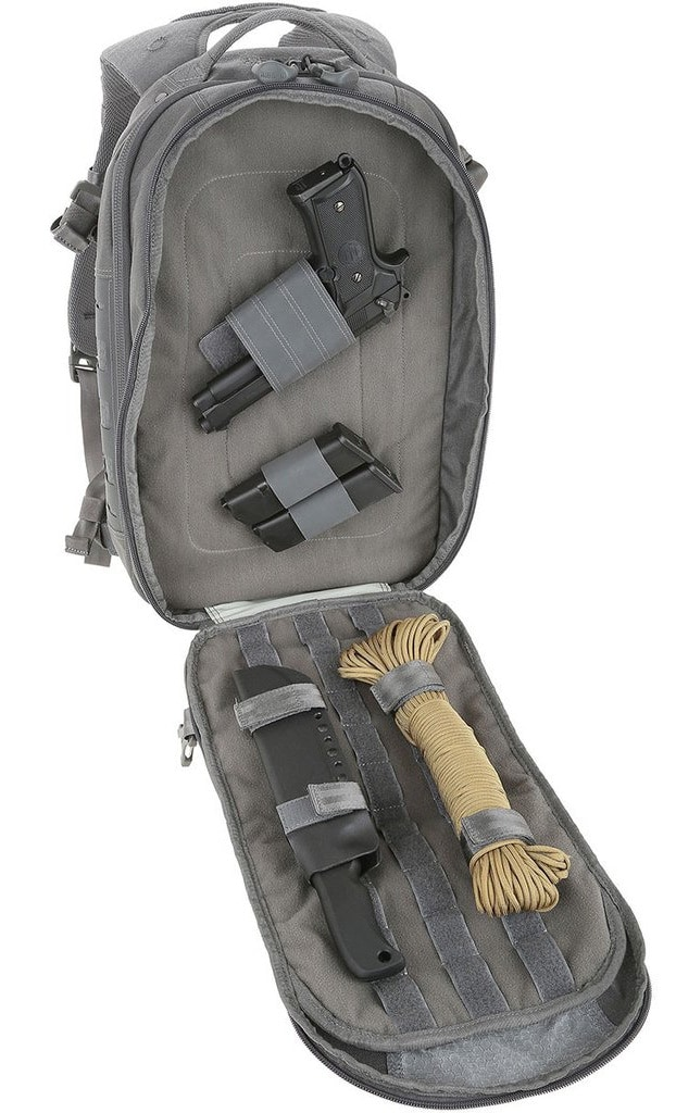 The bag can hold multiple firearms as well as other gear. (Photo: Maxpedition)