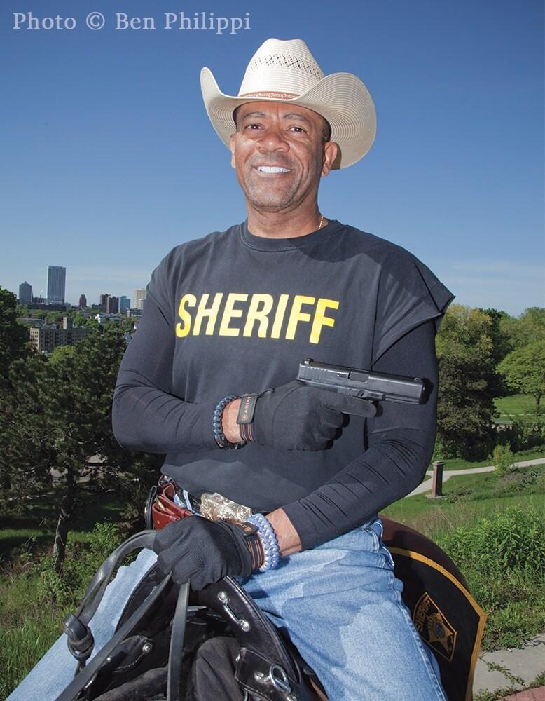 Milwaukee County Sheriff David A. Clarke Jr