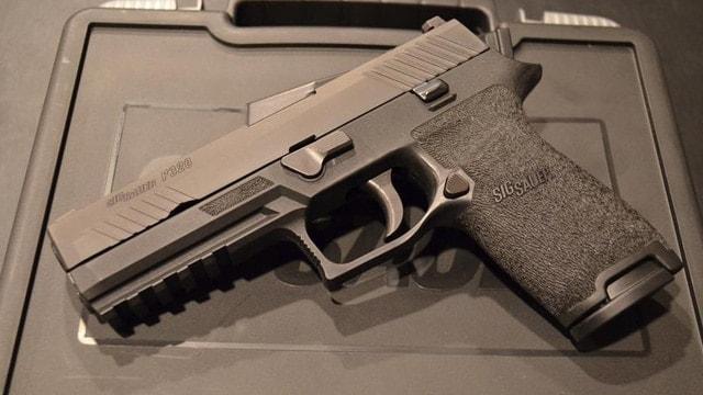 The Sig P320 handgun. (Photo: AR15.com)